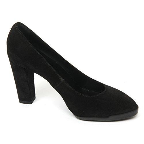 B9586 decollete donna TOD'S gomma T95 scarpa nero shoe woman Nero