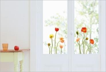 Adesivi elettrostatici senza colla per finestre vetri e specchi visibili sui 2 lati motivo - Adesivi natalizi per finestre ...