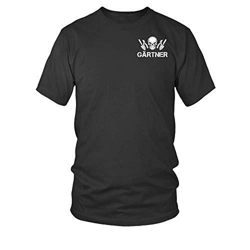 8. Tag Schuf Gott Den T-shirts (Gärtner. Und Am 8.Tag Erschuf Gott Den Gärtner Und Der Teufel Stand Stramm. Männer T-Shirt)