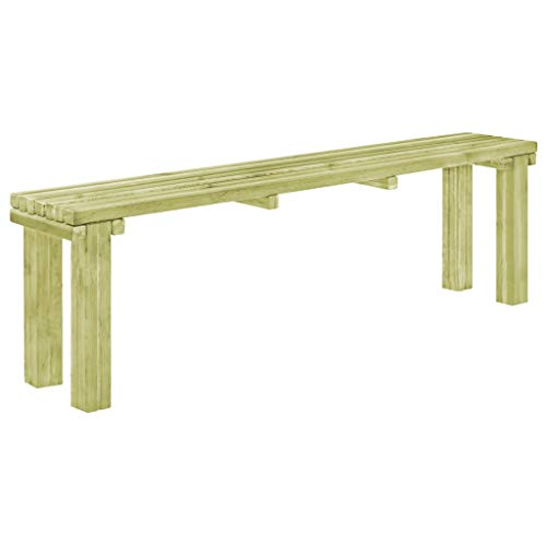 Tidyard Garden Dining Bench Outdoor Bench Wooden Patio Outdoor Furniture Pinewood Seating