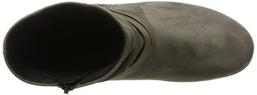 Gabor Damen Comfort Basic Stiefel Grau (30 anthrazit (Micro))
