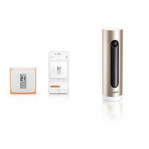 Netatmo - Termostato para Smartphone + Cámara Wi-Fi con reconocimiento facial