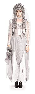 Dead Bride - Rubies Unhappily Everafter - Adult Halloween Fancy Dress Costume - Large (disfraz)