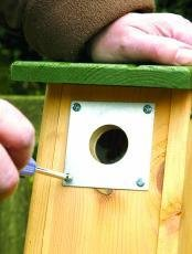 C J Nest Box Plates Test