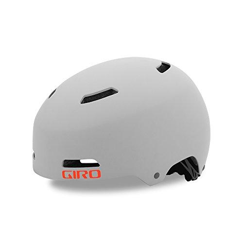 Giro Quarter FS BMX Dirt Fahrrad Helm Grau 2019: Größe: L (59-63cm)
