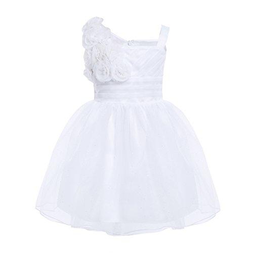 d0e6cfa14 iEFiEL Vestido de Princesa Boda Fiesta para Bebé Niña Vestido de ...