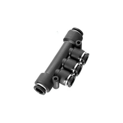 Jonction Triple Union instantanée Prevost CONEX pour Tuyau (6/6/6/6/6mm)