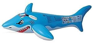 Mondo Toys- Colchoneta Hinchable para Playa O Piscina Tiburón, Multicolor (MD-16721)