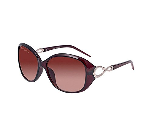 Being Adam Oval Women'S Sunglasses(19Brown Oval Ladiess|51|Brown)