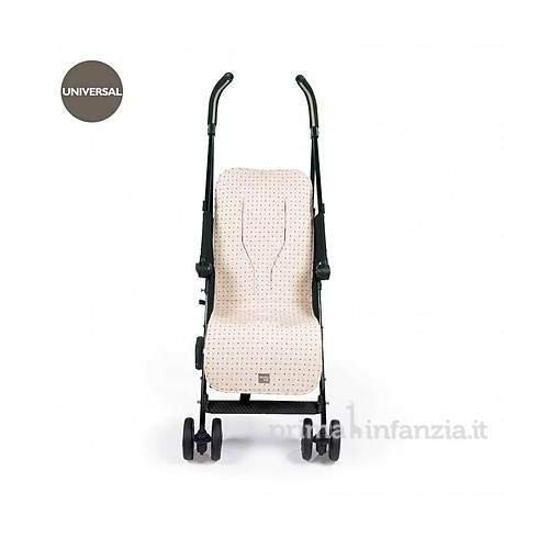 Walking Mum Positive - Colchoneta para silla, unisex, color beige