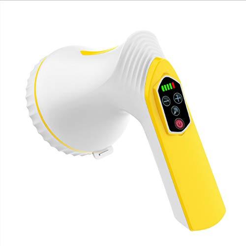XJZHAN Handmassagegerät Cordless Deep Tissue Fat Cellulite-Massagegerät für Gesicht, Hand, Arm, Hals, Fuß und Ganzkörper,color1