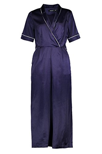 Marine Femmes abbey combinaison pyjama Marine