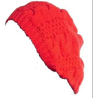 Bonnet - Beret Laine - Rouge