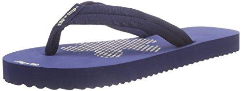 flip*flop - Slim Tex, Sandali infradito Donna Blu (Blau (032))