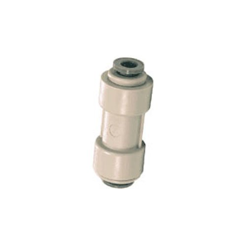 John Guest 3/8 x 1/4 Reducing Straight Union Quick Connector Gray Acetal RO DI Reverse Osmosis Drinking Water by John Guest - John Guest Union Connector