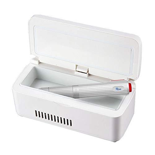 Preisvergleich Produktbild HMJZ InsulinküHler, Tragbarer GeküHlter Kleiner KüHlschrank des Autos Mini-KüHlbox Mini-Medizinthermostat-KüHlschrank 2-8 ° C