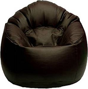 Vsk Bean Bag Sofa Mudda Cover Brown Xxxl 35*35*15 Inch (Without Beans)