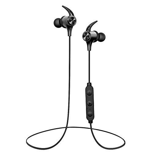 Bluetooth Kopfhörer In-Ear, Boltune Sport Headphones mit 16 Std. Spielzeit/IPX7 Wasserschutzklasse/eingebautem Mikrofon Federleicht Headset für iPhone, Samsung, Huawei, HTC uws.