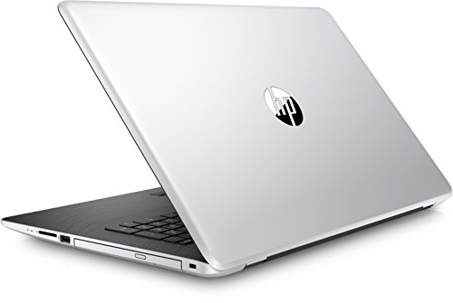 HP 17 bs019ng 1UQ41EA 439 cm 173 Zoll FHD Laptop Intel main i7 7500U 8GB RAM 1 TB HDD 128GB SSD AMD Radeon 520 Grafikkarte Windows 10 family home 64 silber schwarz Notebooks