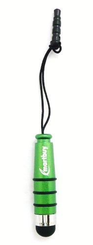 Emartbuy Grün Metallisch Mini Eingabestift für kapazitive Resistive Touchscreens Geeignet Für Swistel Champ S5003D / eSmart H1 / eSmart E2 (Champs-grün)