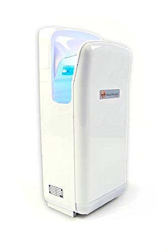 Magic Stream elektrischer Händetrockner für trockene Hände in 5-7 Sekunden, 1.900 Watt, berührungslos mit Sensor