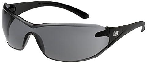 Caterpillar Smoke black Shield safety frame glasses