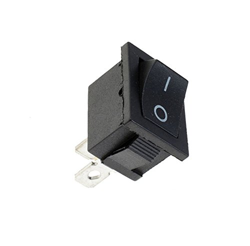 Interesting 1PCS on/Off Rectangle Rocker Switch Auto-Schlag-Boot + Wasserdichte Abdeckung - Schwarz on/Off