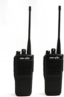 ContalkeTech DM200 DMR Digital Radio UHF400-470MHz VOX FM Radio + Cable de programación (2 paquetes)