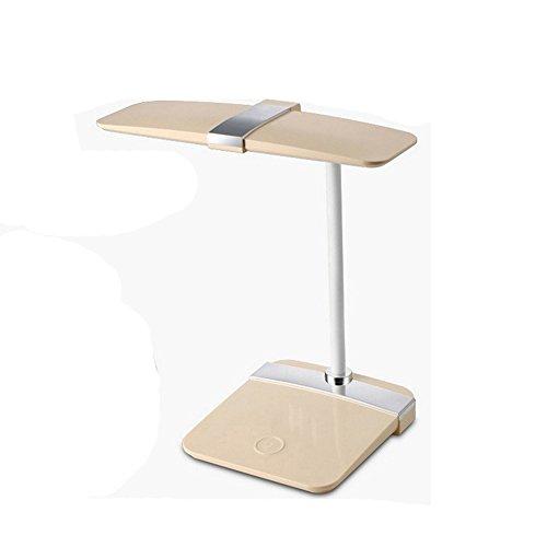 Wanson Lampe De Table Salle De Séjour Moderne Chambre Lampe De Bureau LED Lampe De Luxe Touch Diamètre De Lumière 25,5 Cm Jaune Eyecare Lampe