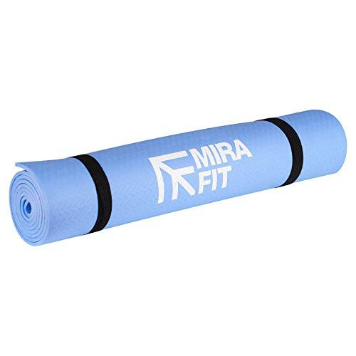 Mirafit Tapis d'Exercice 6 mm - Bleu