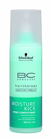Schwarzkopf Professional Bonacure Moisture Kick Spray-Conditioner 200 ml, 1er Pack (1 x 200 ml)