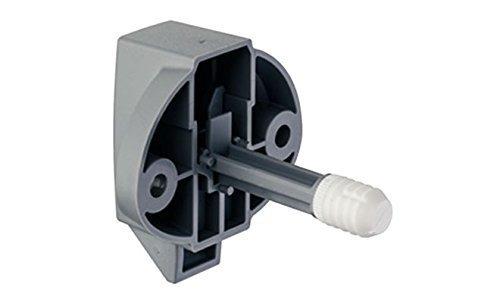 Preisvergleich Produktbild GedoTec® Druckzylinder Möbel-Zylinder Cara-Latch für Carvan & Wohnwagen | Carvan-Möbelschloss für Holzstärke 16 mm mit Fallenverschluss | Kunststof grau | Markenqualität für Ihren Wohnbereich