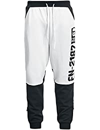 Star Wars Episode 7 - The Force Awakens - First Order - Stormtrooper - FN-2187 Pantalon Survêtement noir/blanc