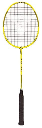 Talbot Torro Badmintonschläger Isoforce 651.8, 100% Carbon4, Long-Schaft für maximale Power, 439556
