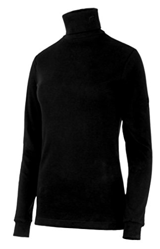 Medico Damen Ski Shirt, 34, 100% Baumwolle, langarm, Rollkragen | 04044185279826