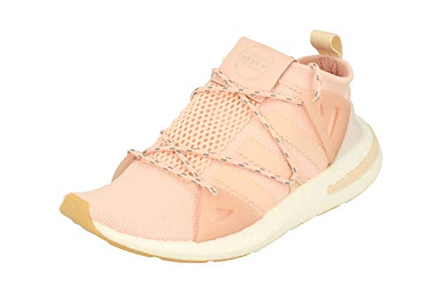 adidas Damen Arkyn Running Sneakers (UK 5.5 US 7 EU 38 2/3, Ice pink Linen BB7585)