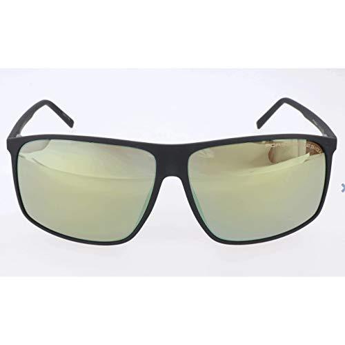 Porsche design sonnenbrille p8594 a 62 12 140 occhiali da sole, nero (schwarz), 62.0 uomo