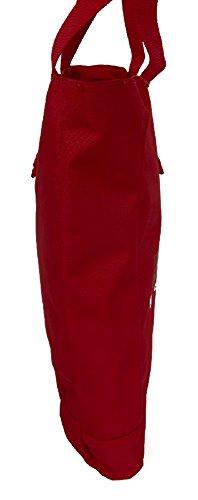 Napapijri North Cape Borsa tote II 42 cm rosso