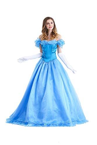 Memory meteor Mädchen Kostüm Cinderella Prinzessin Kleid Party Kinder Spitze Cosplay Paillette Kleidung Festival,Schneewittchen Kostüm Frauen,M (Frauen Für Schneewittchen-kostüme)
