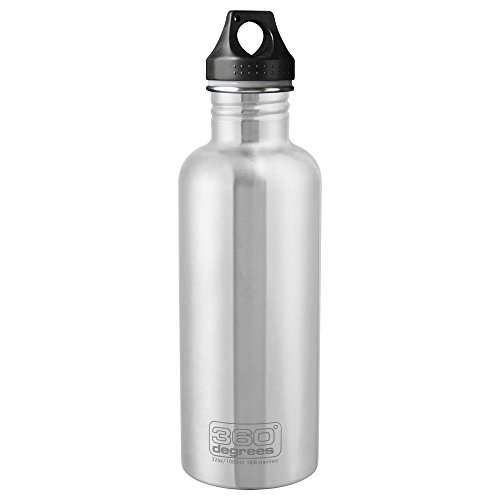 360° Degrees Stainless Drink Bottle 1000ml Steel 2019 Trinkflasche