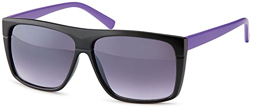 SAMBORA® 3878-2 Unisex Sonnenbrille UV400 Schutz Wayfarer Style - Lila