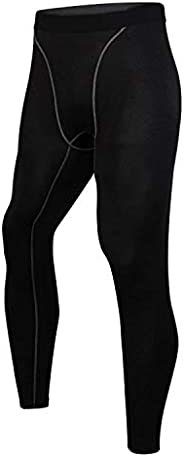 Men's Compression Pants Sport Tight Leggings Ti