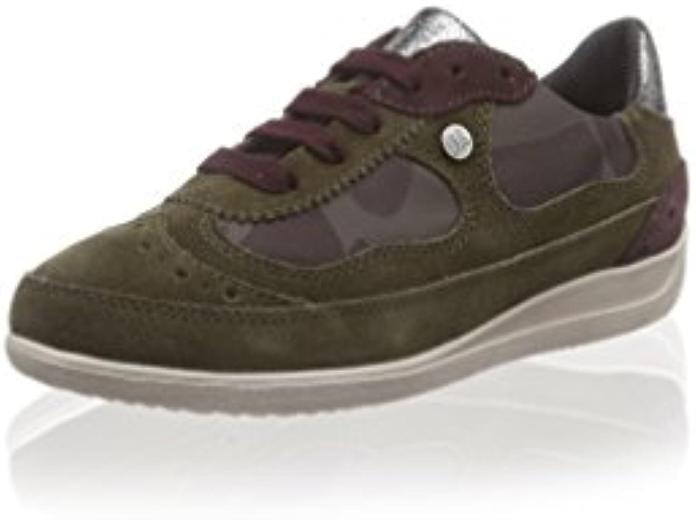 Geox Sneaker D Myria lehmbraun/Camouflage EU 41