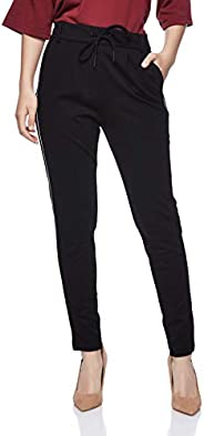 ONLY drawstring fashion jogger for women in Black, Medium