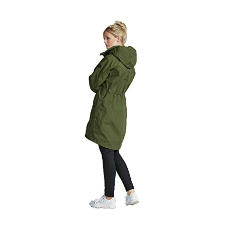 DIDRIKSONS1913 Damen Mantel Thelma Womens Coat 561168 Oliv grose 42 UK 16