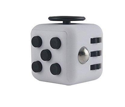 Romote Mini cubo de estrés, alivia el estrés y la ansiedad, juguete de juguete, cubo fidget spinner