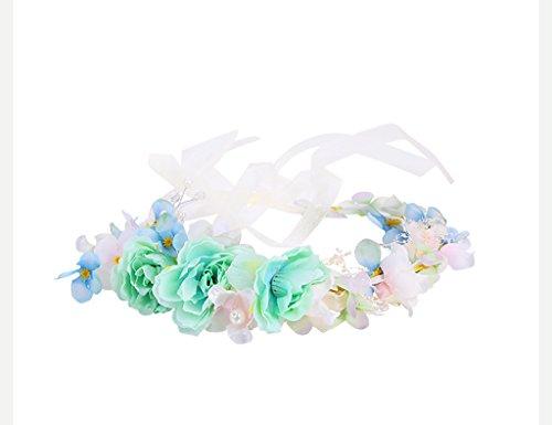 Sea views Coiffe Corolla Bride Cérémonie de Mariage Wreath Flower Series Bridesmaid Cérémonie d'enfants/Accessoires Robe de mariée Garland