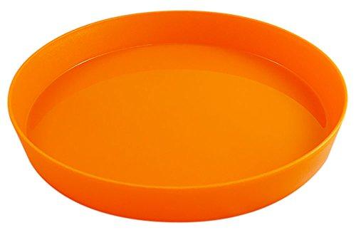 Durchmesser 38 cm rutschfest (orange), Tablett rund antirutsch ()