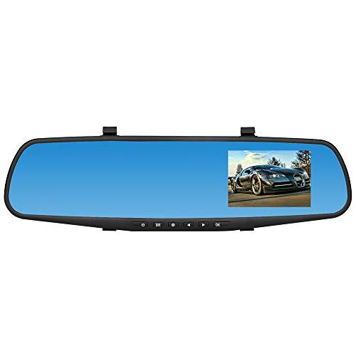Caméra de voiture arrière objectif DVR Enregistreur vidéo, Mamum HD 1080p Voiture Dash Camera double Cam véhicule avant arrière objectif DVR Enregistreur vidéo