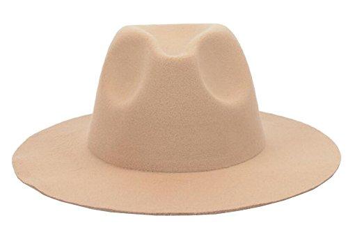 Chapeau Fedora à bord large pour homme et femme Chapeau Panama